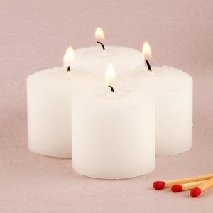 Clear Burn Votive Candles (Set of 72) image
