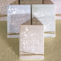 Antique Book Favor Box Kit (Set of 8)