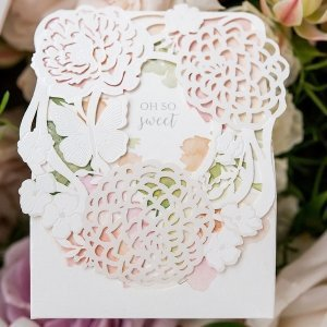 Floral Garden Favor Box (Set of 10) image