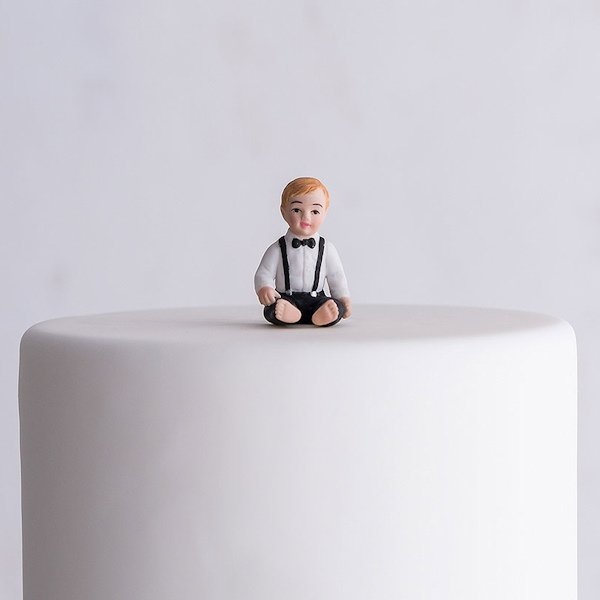 wedding cake toppers with baby boy baby boy porcelain figurine family wedding cake topper 26625
