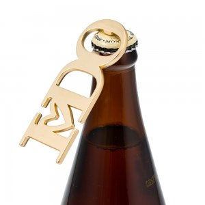 Gold I DO Bottle Opener Favor image