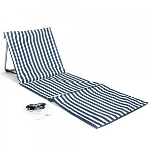 Folding Beach Mat and Sun Lounger image