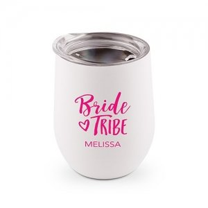 Bride Tribe Personalized Stemless Travel Tumbler (Color Opti image