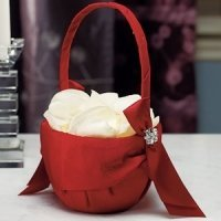 Beverly Clark Monroe Collection Flower Girl Basket