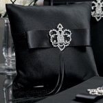 Beverly Clark Crowned Jewel Ring Pillow (3 Colors)