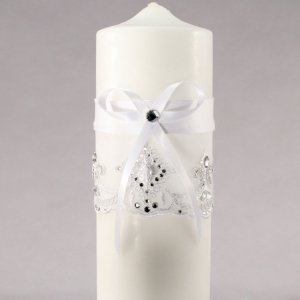Beverly Clark Royal Lace Collection Unity Candle image