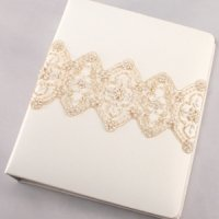 Beverly Clark Collection Memory Book (White or Ivory)