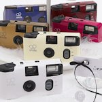Solid Color Disposable Cameras for Weddings (Many Colors)