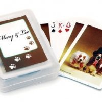 Wedding Hounds Playing Card Favors
