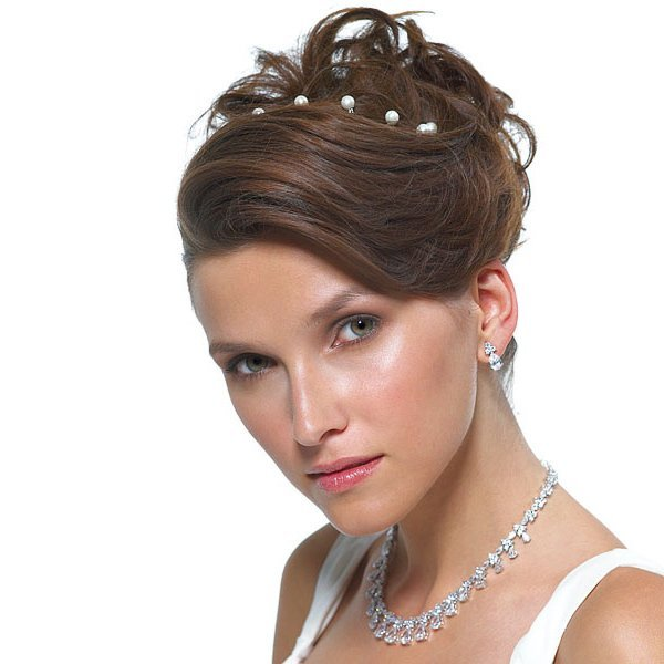 hair styles for hair wedding jeweled hair twists 6118