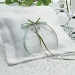 Celtic Charm Square Ring Bearer Pillow