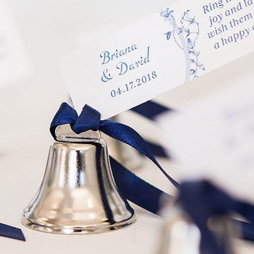 Gold Wedding Bells: Silver Or Gold (Box Of 24