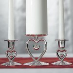 Dangling Heart Unity Ceremony Candle Holder