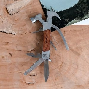 Personalized Rose Wood Handle Hammer Multi-tool image