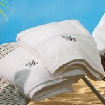Velour Mr. & Mrs. Towel Set