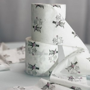Wedding Couple Toilet Paper Roll image