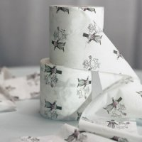Wedding Couple Toilet Paper Roll