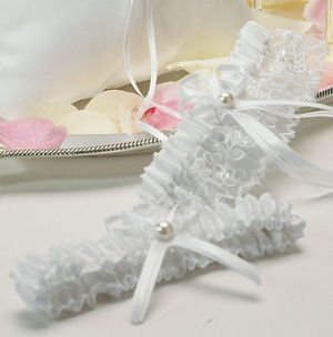 Whimsical Art Two Piece Garter Set image