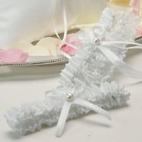 Whimsical Art Two Piece Garter Set