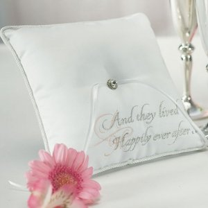 Princess Dreams Cinderella Ring Bearer Pillow image