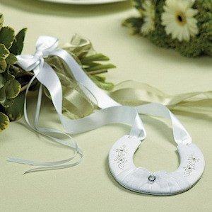 Satin Covered Lucky Horseshoe image