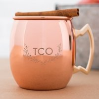 Woodland Monogram Copper Moscow Mule Mug