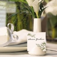Mini Vase Place Card Holder (Set of 6)