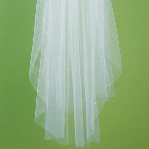 Veil with Scattered Pearls image