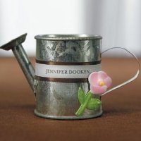 Miniature Metal Watering Cans Favors (Set of 12)