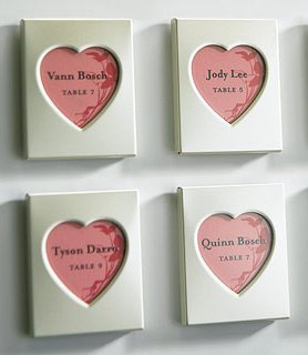 Magnet Back Mini Heart Photo Frames (Set of 3) image