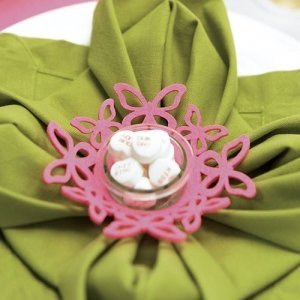 Foam Butterfly Ring Candle Holders (Set of 4) image