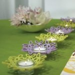 Foam Butterfly Ring Candle Holders (Set of 4)