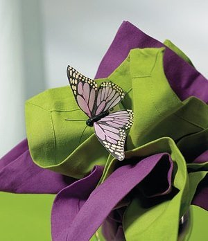 Hand Painted Butterflies (Set of 12) image