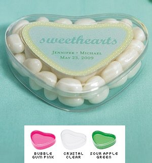 Heart Shaped Candy Containers (Set of 12) image