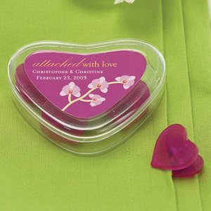 Heart Containers with 4 Heart Shaped Clips image
