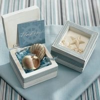Beach Theme Wooden Box (Set of 12)