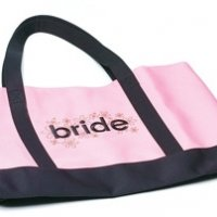 'Bride' Two Tone Tote Bag