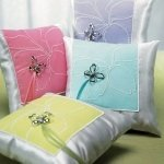 Butterfly Garden Dreams Ring Bearer Pillows