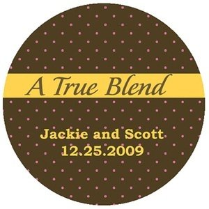 'A True Blend' Custom Stickers image