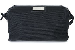 Black Personalized Toiletry Bags for Men image