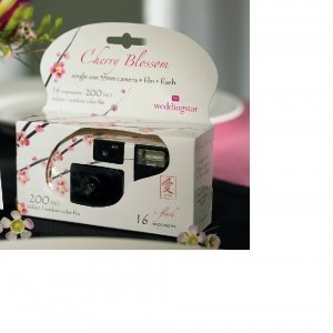 Disposable Camera with Cherry Blossom Design image