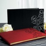 Silhouettes in Bloom Guest Book (2 Colors)