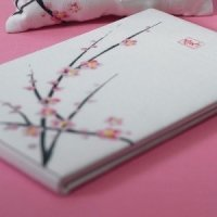 Cherry Blossom Themed Guest Book