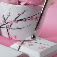 Cherry Blossom Themed Pen Set