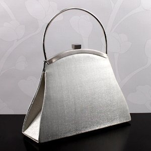 Evening Bag with Modern Metal Handle image
