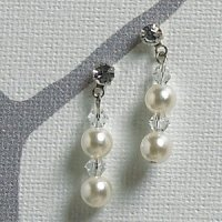Pearls and Crystals Illusion Jewelry Accessories