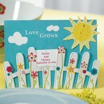 Picket Fence & Sun Seed Paper Favors (Sets of 12)