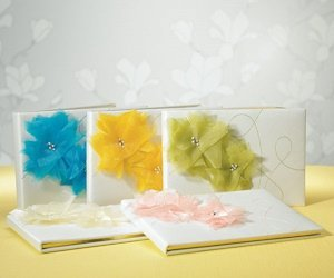 Splash of Color Guest Books for Weddings (5 Colors) image