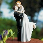 True Romance Couple Wedding Cake Topper (3 Skin Tones)