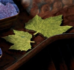 Wooden Die Cut Maple Leaves (Set of 12) image